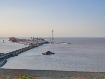 29 yangshan donghai bridge deep sea port