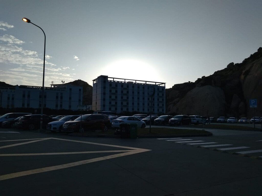 3 Yangshan Parking lot 3