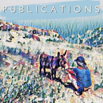 Publications donkey Brava Cabo Verde - Watercolor press