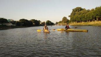 Ivan Alvarov kayaking meetup chiang mai Jonas and Iris