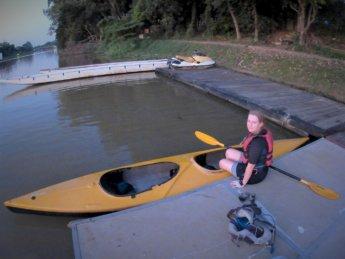 Kayaking Ping River Chiang Mai first round 15
