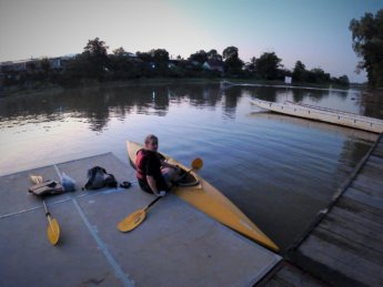 Kayaking Ping River Chiang Mai first round 16