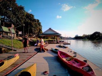 Kayaking Ping River Chiang Mai first round 2