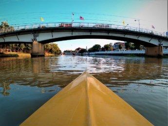Kayaking Ping River Chiang Mai first round 4