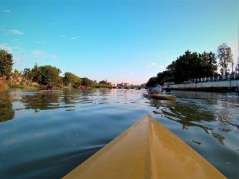 Kayaking Ping River Chiang Mai first round 6