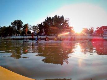 Kayaking Ping River Chiang Mai first round 7