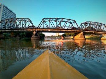Kayaking Ping River Chiang Mai first round 8