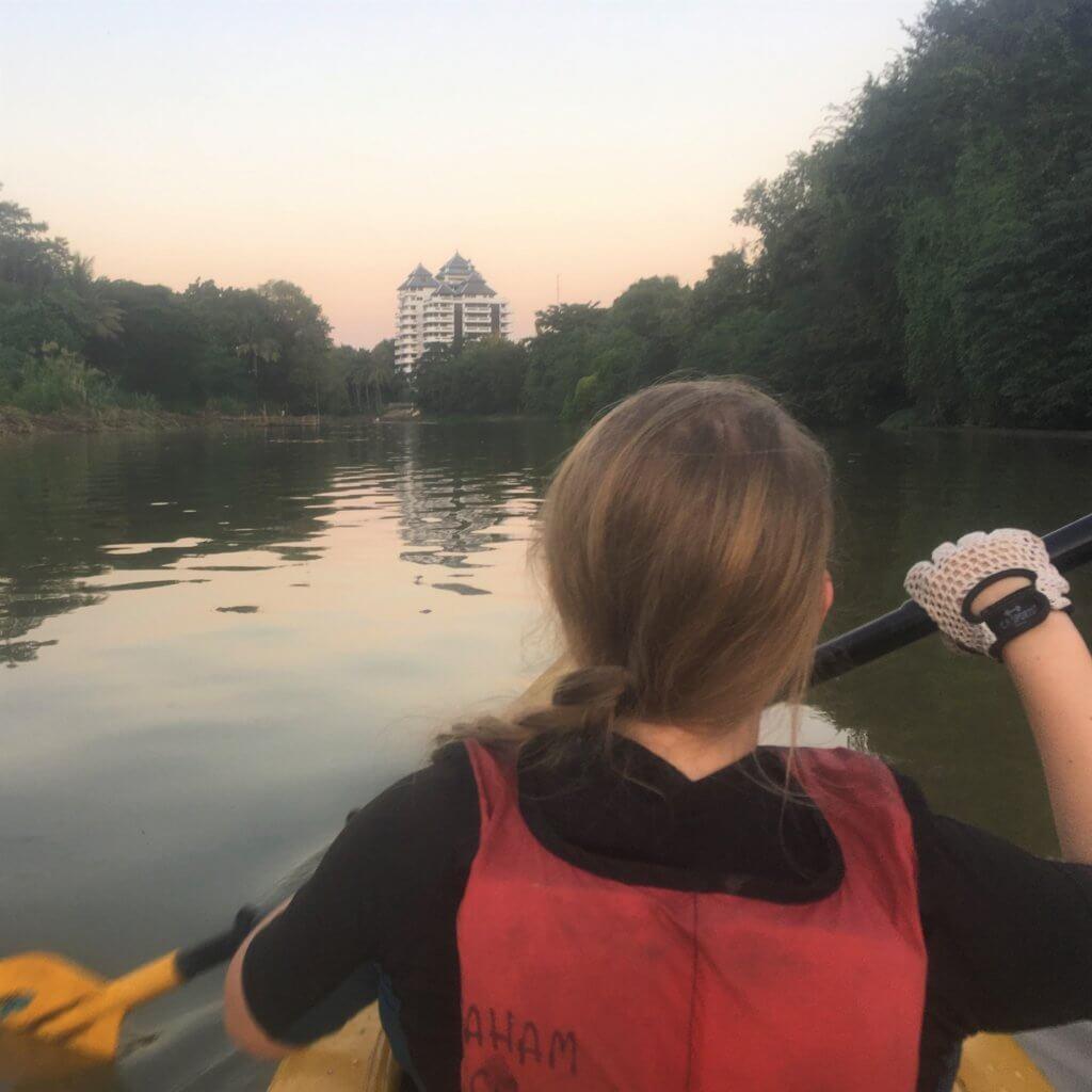kayaking chiang mai ping river
