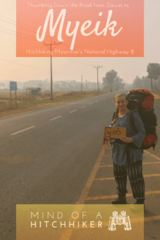 In Myanmar, we finished hitchhiking the National Highway 8 from Dawei to Myeik. We shared that journey with our five drivers from Yangon. #Myanmar #hitchhiking #hitchhikers #hitchhiker #Dawei #Myeik #Yangon #travel #backpacking #backpack #journey #Myanma #southeastasia #asia #Andaman #Mergui #MerguiArchipelago #peninsula #Burmese #Burma