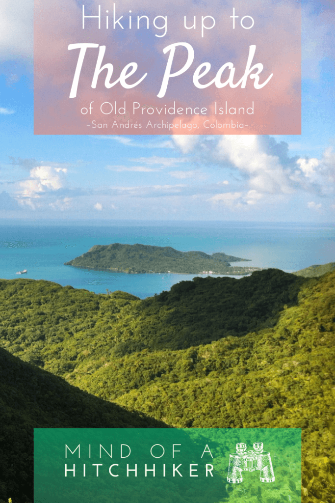 The highest point of Old Providence Island (isla de Providencia) in the San Andrés Archipelago (Colombia) has one popular route and one not so popular route. We tried them both so you don't have to (unless you're willing to get dirty!) #Colombia #SanAndrés #Providencia #OldProvidence #SanAndrésArchipelago #archipelago #Caribbean #CaribbeanSea #hiking #peak #pico #mountain #hikingtrail #trail #scrambling #LatinAmerica #Creole #SantaCatilina #sendero #mardelossietecolores