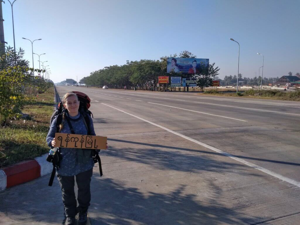 Hitchhiking Naypyitaw to Yangon 1