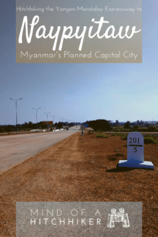 With the proper preparation, hitchhiking is one of the fastest ways to get around in Myanmar. Here's how to get to the new capital city from Old Bagan by thumb. #hitchhiking #hitchhiker #Myanmar #OldBagan #Bagan #NyaungU #Naypyitaw #Naypyidaw #Myanma #travel #journey #adventure #backpacking #southeastasia #Asia #Yangon #Mandalay #pagoda #Burma #Burmese
