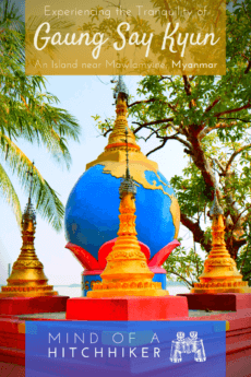 Arguably one of the nicest things to do when making a stopover in Mawlamyine (Myanmar) is visiting Gaung Say Kyun Island (aka 'Shampoo Island') in the Salween River Delta. #Myanmar #Mawlamyine #ShampooIsland #GaungSayKyun #Myanma #southeastasia #asia #asiatravel #pagoda #buddhisttemple #buddhistmonk #buddhism #Yangon #Mandalay #Salween #Thanlwin #Mawlamyaing #Moulmein #Burma #Burmese