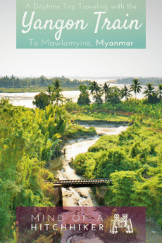 In January 2020, we decided to try something new in traveling and take a train from Yangon to Mawlamyine instead of hitchhiking. It was a very long journey with lots to see along the way. #Myanmar #Mawlamyine #Yangon #travel #Myanma #traintravel #trains #railroad #railway #rails #upperclass #SoutheastAsia #Asia