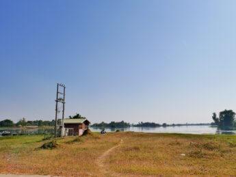 Yan Aung Myin Dam reservoir naypyitaw myanmar motorbike fishing golf course