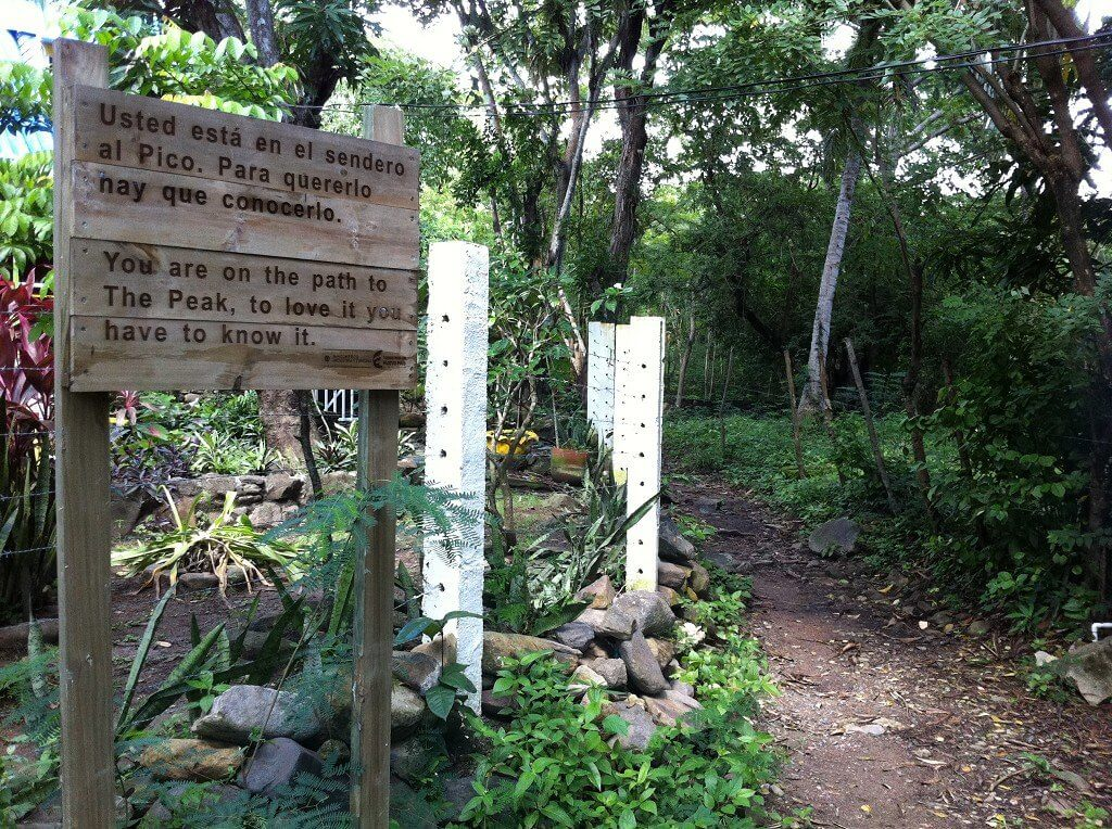 1 trailhead the peak providencia old providence