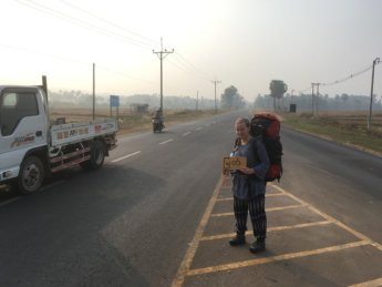 Dawei to Myeik by Thumb – Hitchhiking Myanmar tollgate