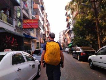 Hitchhiking Naypyitaw to Yangon 11