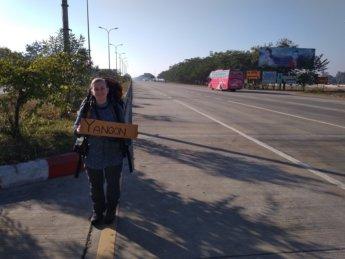 Hitchhiking Naypyitaw to Yangon 2
