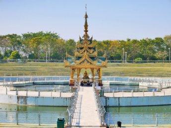 Uppatasanti pagoda myanmar naypyitaw water shrine
