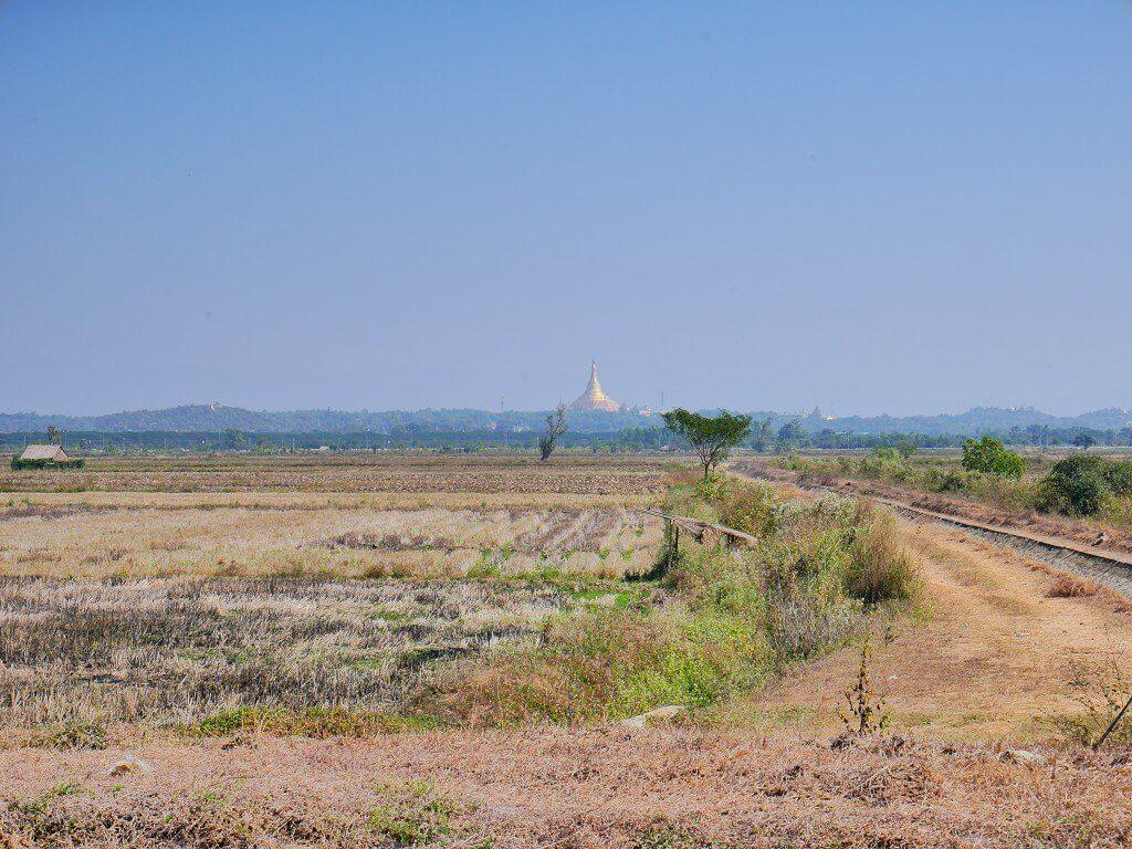 Uppatasanti pagoda greenfield land naypyitaw
