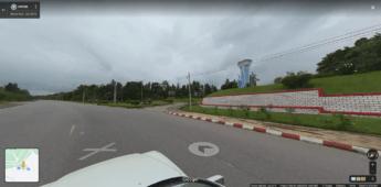 google street view deplorable golf course naypyitaw