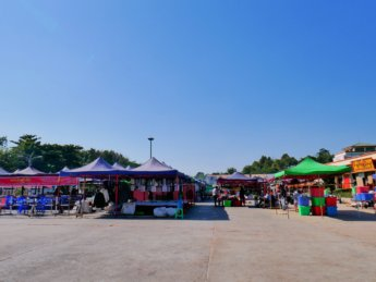 myoma night market hawker center myanmar naypyitaw on monday closed