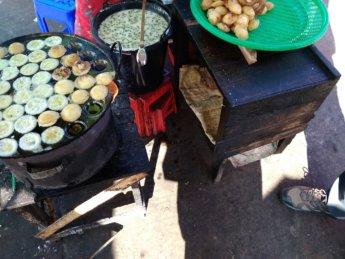 naypyitaw poffertjes myoma market myanmar hawker stall street food night market