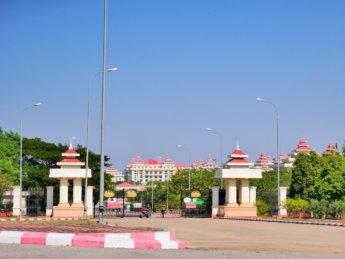 naypyitaw pyidaungsu hluttaw entrance gate