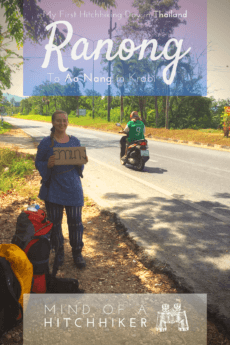 The first time we hitchhiked in Thailand we needed to go from Ranong to Ao Nang in the south. It was very easy with the right preparation! #hitchhiking #hitchhiker #hitchhikers #pickup #Thailand #Ranong #PhangNga #AoNang #southernthailand #AndamanSea #journey #adventure #Thai #Bangkok #travel #backpacking #Asia #southeastasia #overland #slowtravel