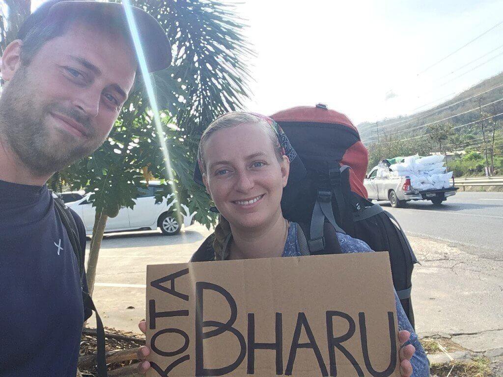 Hitchhiking from Hat Yai to Kota Bharu