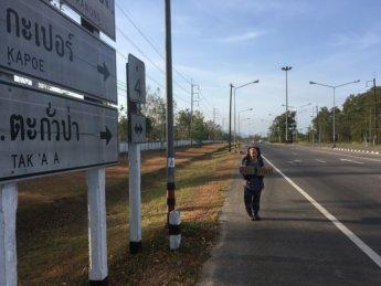 Hitchhiking Ranong to Ao Nang Extra 3