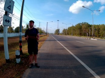 Hitchhiking from Ao Nang to Ranong Thailand 4