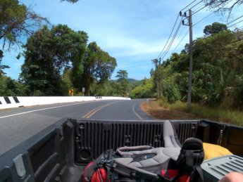 Hitchhiking from Ao Nang to Ranong Thailand 8