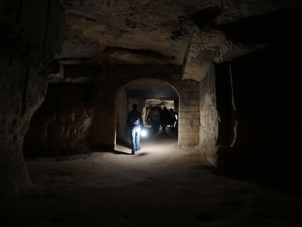 Maastricht summer casemates cave tour 4