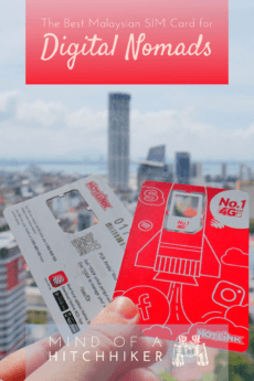 Which Malaysian SIM card is best for digital nomads? We did the research for you. #Malaysia #Malay #Malasian #SIMcard #mobiledata #roaming #hotlink #kualalumpur #pulaupinang #penang #georgetown #singapore #indonesia #prepaid #travel #digitalnomad #southeastasia #asia #batucaves #langkawi