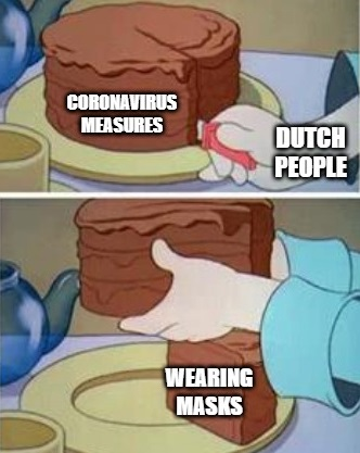 dutch people coronavirus measures meme