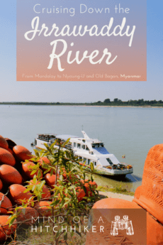 To get from Mandalay to the temples of Old Bagan/Nyaung-U, we took an affordable river cruise down the majestic Irrawaddy River. Here's what that journey is like! #irrawaddy #ayeryawady #myanmar #myanma #bagan #oldbagan #nyaungu #mandalay #yandabo #rivercruise #cruise #irrawaddyriver #daycruise #myanmartravel #backpacking #luxurytravel #southeastasia #asia #burma #burmese