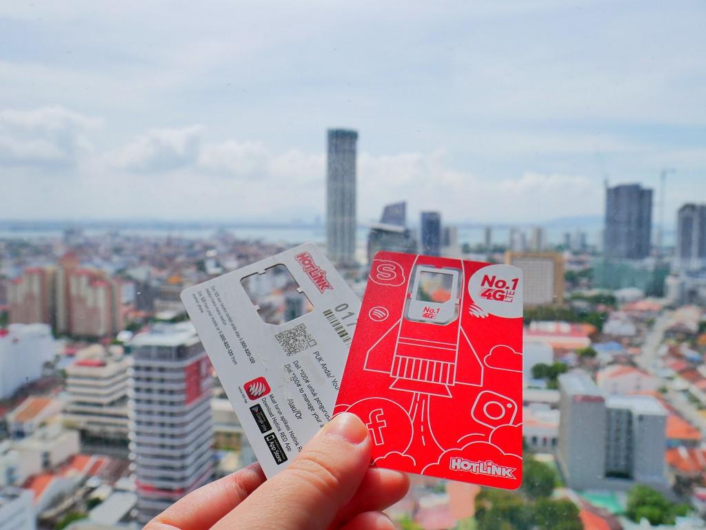 Hotlink SIM card Malaysia