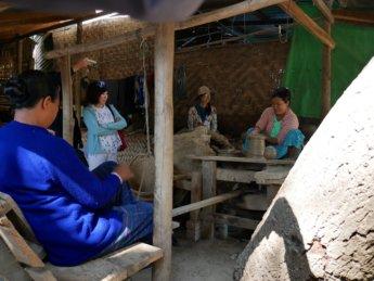 Irrawaddy river cruise mandalay to bagan 16 yandabo pottery villageIrrawaddy river cruise mandalay to bagan 16
