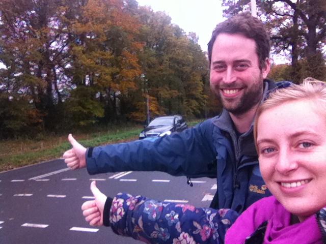 Jonas first hitch the Netherlands 1 about Iris Veldwijk