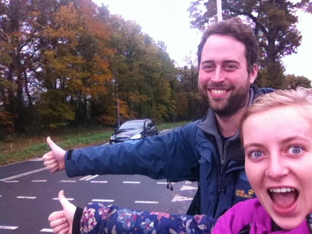 Jonas first hitch the Netherlands 2 about Iris Veldwijk