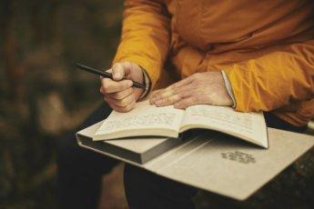 strangers notebook travel journal diary writing