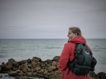 Ras Angela tunisia northernmost point about Iris Veldwijk