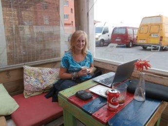 Tarifa working digital nomad spain about Iris Veldwijk