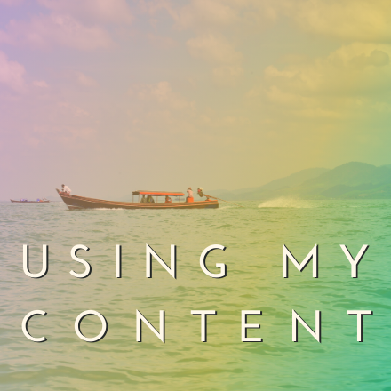 using my content v1