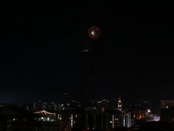 doi suthep fireworks 2019 2020 new years eve Chiang Mai