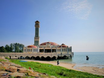 june 17th 2020 tanjung bungah floating mosque penang