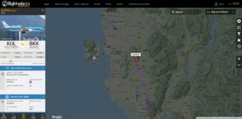 4th of june 2020 pandemic in penang klm flight