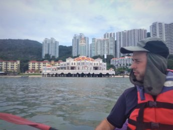10 kayaking pulau tikus floating mosque Penang George Town Tanjung Bungah